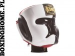 "Kask sparingowy Top King TKHGEC-LV ""EXTRA COVERAGE"" (black/white/red)"