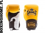 Rękawice bokserskie Top King TKBGSA SUPER AIR (yellow/black/white)