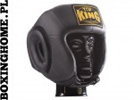 "Kask sparingowy Top King TKHGOC(SL) ""Open Chin Competition"" (black)"