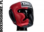 "Kask sparingowy Top King TKHGEC-LV ""EXTRA COVERAGE"" (red/black)"