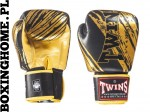 Rękawice bokserskie Twins FBGV-TW3 (black/gold palm)