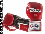 "RĘKAWICE BOKSERSKIE FAIRTEX BGV5 (red/black/white) ""Super Sparring"""