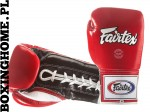 RĘKAWICE BOKSERSKIE FAIRTEX BGL1 (red/black/white 3-Tone)