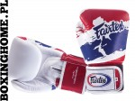 "RĘKAWICE BOKSERSKIE FAIRTEX BGV1 thai flag ""Thai Pride"" BOX"