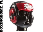 "Kask sparingowy FAIRTEX HG13 (red) ""Diagonal Vision Sparring"""