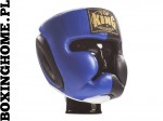 "Kask sparingowy Top King TKHGEC-LV ""EXTRA COVERAGE"" (black/blue)"