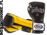 "RĘKAWICE BOKSERSKIE FAIRTEX BGV9 (black/yellow) ""Mexican Style"""