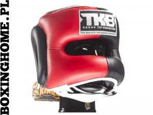 Kask sparingowy Top King TKHGPT (OC) (red/black/white)