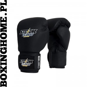 Rękawice do Muay Thai StormCloud  BLIZZARD (czarne)